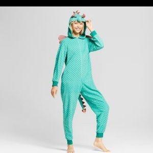 Other - Dragon onesie jumpsuit pajama rave Festival romper